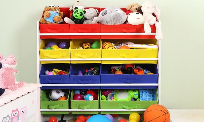 tag re de rangement pour jouets groupon. Black Bedroom Furniture Sets. Home Design Ideas