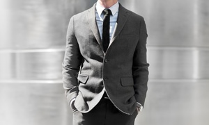 Peter Parvez Custom Made: Three Custom Shirts or Full Bespoke Suit in Any Color or Pattern at Peter Parvez Custom Made (Up to 61% Off)