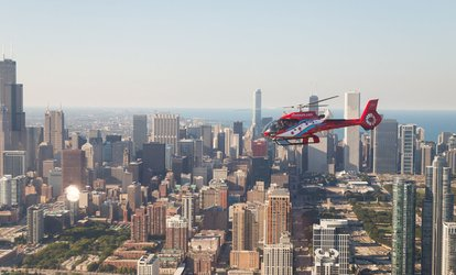 image for <strong>Helicopter</strong> Tours for Two at Chicago <strong>Helicopter</strong> Experience (Up to 28% Off)