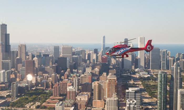 Helicopter Tours for Two at Chicago Helicopter Experience (Up to 28% Off). Three Options