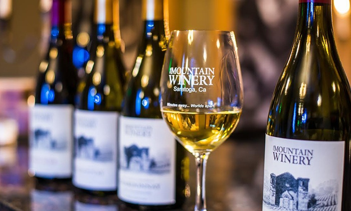 Mountain Winery - Saratoga: Wine Club Membership with Pick-Up or Delivery at Mountain Winery (Up to 47% Off)