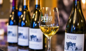 Mountain Winery: Wine Club Membership with Pick-Up or Delivery at Mountain Winery (Up to 47% Off)