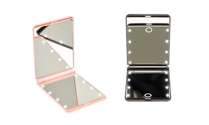 globrite led touch screen spiegel groupon goods. Black Bedroom Furniture Sets. Home Design Ideas