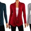 Women's Hacci Criss-Cross Cardigans (3-Pack)
