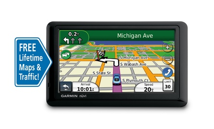 Garmin Nuvi 1490LMT with Lifetime Maps and Traffic (Manufacturer Refurbished)