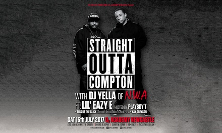 Straight Outta Compton, 15 July at O2 Academy (Up to 35% Off)