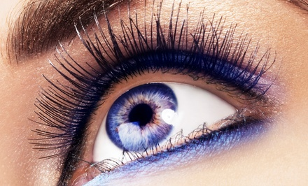 Full Set of Eyelash Extensions with Optional Touchup at Salon Tres Ci (Up to 73% Off)