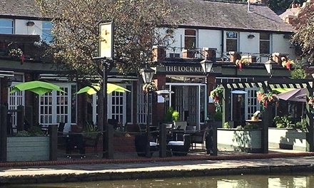 Burger Meal with Beer for Two or Four at The Lock Keeper