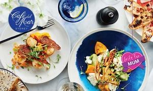 Café del Mar: Harbourside Mediterranean Dining with Views over Darling Harbour: $100 or $200 to Spend on Food & Drinks at Café del Mar