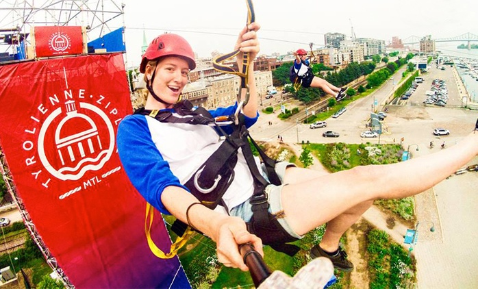 $23 for Access for Two to the MTL Zipline Circuit ($46 Value)