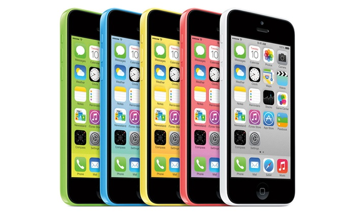 Refurbished iPhone 5c 8GB or 16GB from £109.99 With Free Delivery