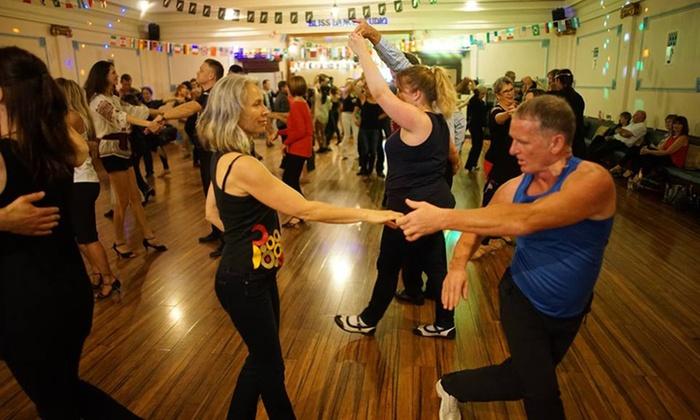 Ceroc Dance - Auckland - Multiple Locations: Five ($29) or Ten ($55) Dance Classes at Ceroc Dance, 9 Locations (Up to $150 Value)