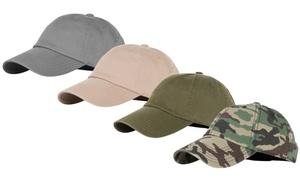 100% Cotton Adjustable Basic Cap