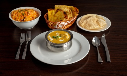 Indian Feast for Two ($49) or Four People ($98) at Spicy Mantra Indian Restaurant (Up to $219.98 Value)