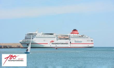 Descuento de hasta 125 € para el billete de ferry ida y vuelta Palma - Ibiza con opción a coche con Trasmediterránea