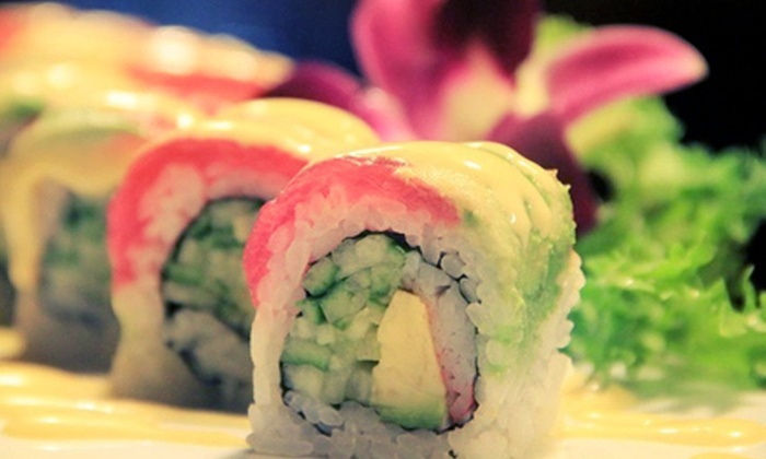Sushi Train - Romeoville: $15 for $30 Worth of Sushi and Japanese Dinner Cuisine at Sushi Train