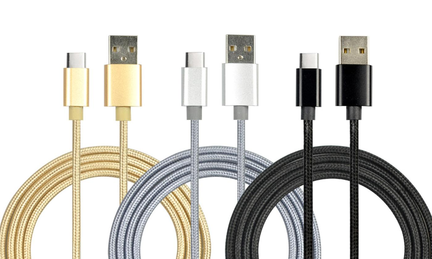 Apachie Metal Braided USB Type-C Cables