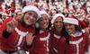 Santa Hustle 5K - Knott's Berry Farm: $40 for Charity Race on Sunday, December 14 from Santa Hustle 5K ($55 Value)