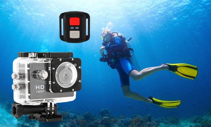 $69 for a 1080p Sports Camera or $89 for a 4K Action Camera with WiFi and Remote Control