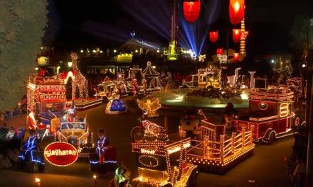 Attractiepark Slagharen: entreeticket, naar keuze incl. Slushmenu, ook geldig tijdens Mircale of Lights