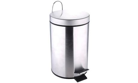 Cubo de basura a pedal Renberg para el baño con capacidad de 3 litros