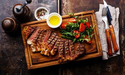Fino a 1,8 kg di tagliata di carne più vino