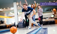 Two Games of Bowling for Four or Six Adults, 27 Locations Nationwide (Up to 76% Off)