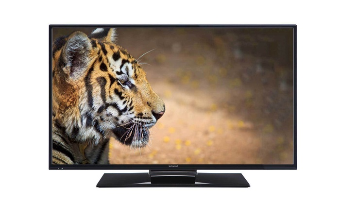 Groupon Goods Global GmbH: Techwood 32AO3CB 32'' LED 720p HD Ready TV or 40AO3CB 40'' LED 1080p Full HD TV/DVD Combi from £139 With Free Delivery