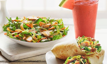 20% Cash Back at Tropical Smoothie Cafe