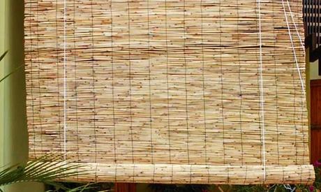 Tenda arella in bamboo disponibile in 4 taglie