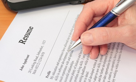 Professional Résumé-Writing Package with Optional Cover Letter from Dragon Resume (Up to 54% Off)