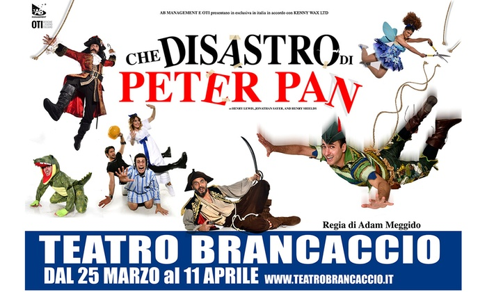 Resultado de imagen de CHE SIASTRO PETER PAN BRANCACCIO