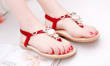 Women's Owl Sandals
