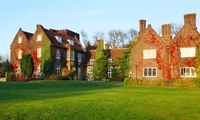 Hertfordshire: 1 or 2 Nights for Two with Breakfast, Dinner and Leisure Club Access at 4* Letchworth Hall Hotel