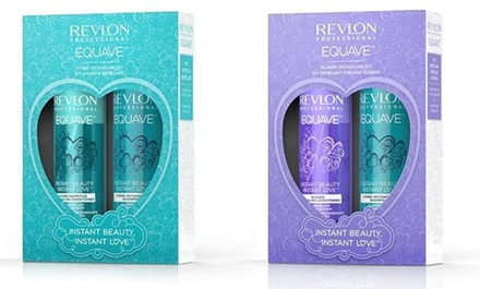 Revlon Equave Instant Beauty Blonde or Hydro Detangling Duo Pack