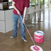 Clean Spin 360º Octomop Spin Mop with Bucket