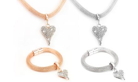 Artemis Womens Crystal Jewellery