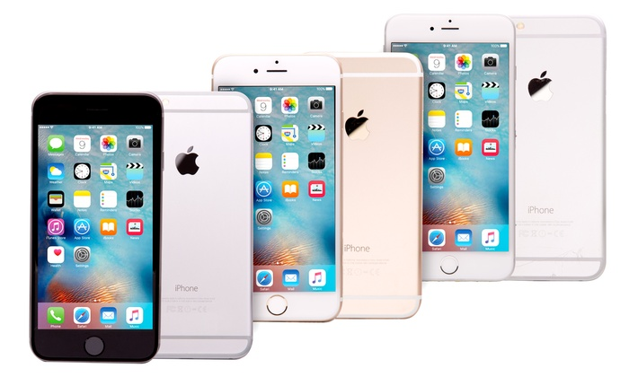 iphone 6 plus deals up to 59 on apple iphone 6 or 6 plus groupon goods 15028