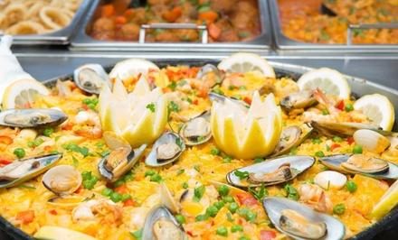 Acceso al bufet libre para 2 personas por 19,99 € en Gran Buffet Universal Las Camelias