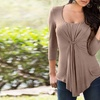 Women's Pulled-Front Top