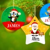 Up to 74% Off Custom Porcelain Holiday Ornaments