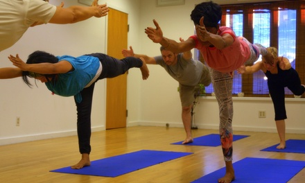 5 or 10 Yoga Classes and One-Year Membership at Iyengar Yoga Detroit (Up to 81% Off)