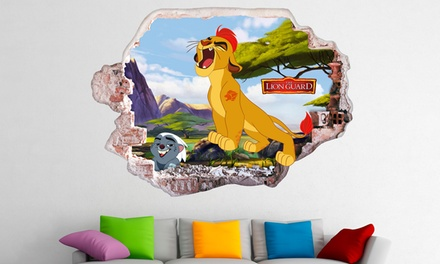 The Lion Guard Decals for £24.98 With Free Delivery (80% Off)
