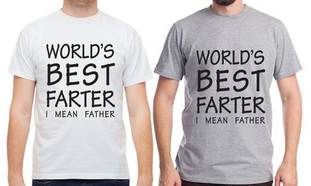 """World's Best... Father"" T-Shirt"