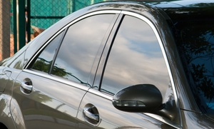 UNIQUE CAR SHOP: Window Tinting for a Two-Door Car from UNIQUE CAR SHOP (50% Off)