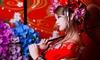 清水・変身スタジオ 羽ごろも屋 - 羽ごろも屋: 50%OFF【8,500円】艶っぽく優雅な変身を楽しむ。京都旅の想い出に≪桜プラン(花魁ヘアメイク/着付け/写真データ4枚)≫女性限定 @羽ごろも屋