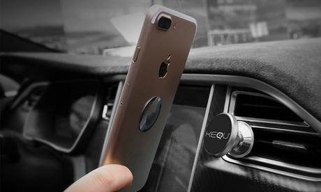 Hasta 3 soportes magnéticos para smartphone