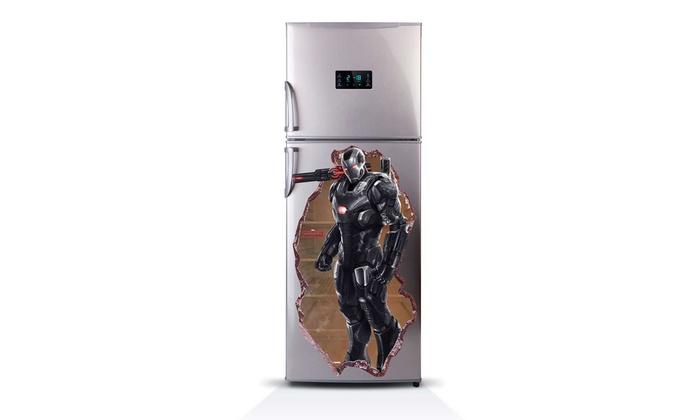 Kühlschrank Aufkleber : Kühlschrank aufkleber groupon goods