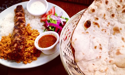 Hot and Cold Meze Feast for Two or Four at Rojava Restaurant