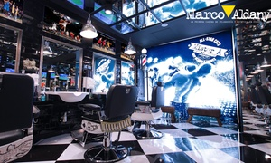Marco Aldany: Marco Aldany: sesión de peluquería para hombre con lavado, corte, diseño de barba y tinte desde 7,95 € en toda España